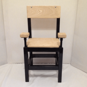 Collapsible steel balance chair for Hand stand with canes