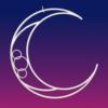 Aerial hoop-moon lyra